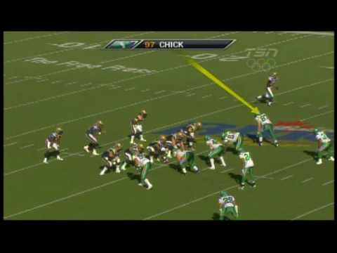 John Chick sack on Michael Bishop in the Banjo Bowl - September 13, 2009