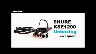 Shure KSE1200 Unboxing en español