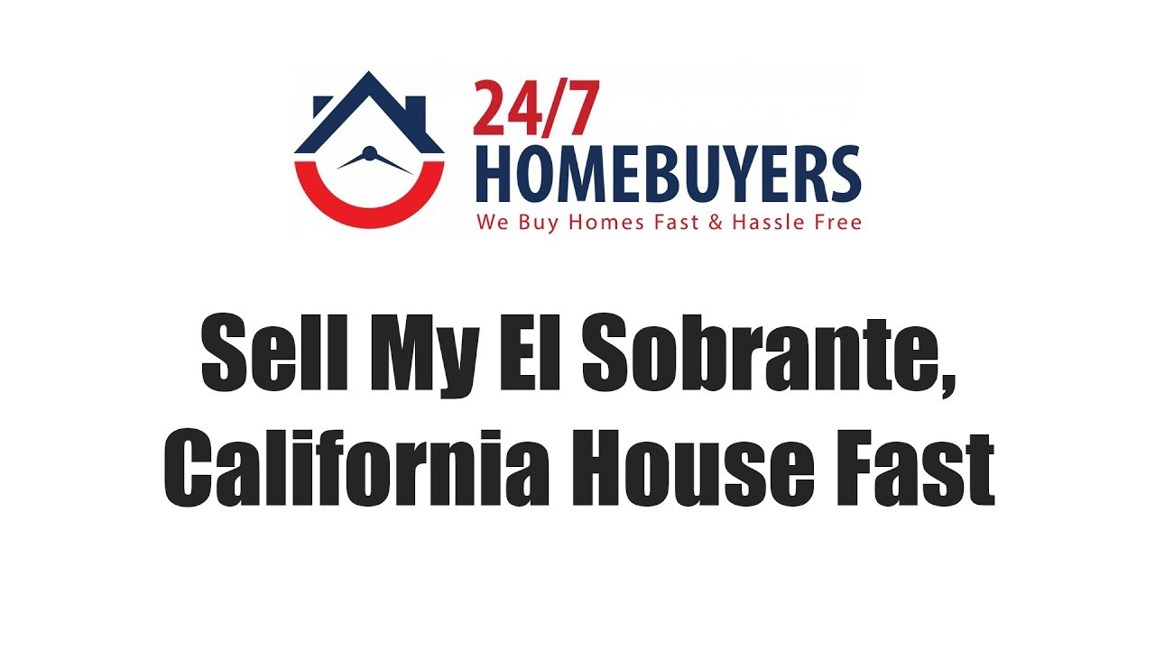 Sell My El Sobrante, California House Fast