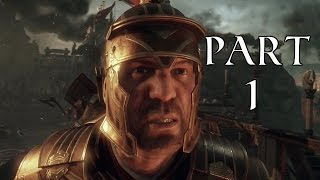 Ryse Son of Rome Gameplay Walkthrough Part 1 - Protect the Emperor (Xbox One)