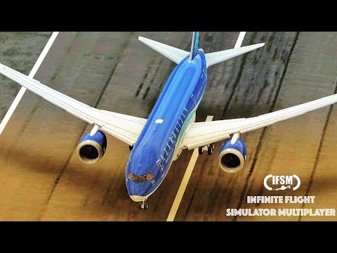 Infinite Flight Azerbaijan Airlines Boeing 787 - Take-off from JFK