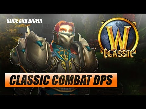 Classic WoW Combat Rogue DPS