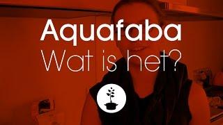 aquafaba: wat is het?
