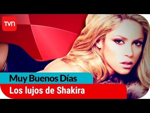 Los millonarios lujos de Shakira | Muy buenos das
