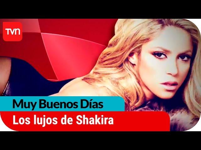 Los millonarios lujos de Shakira | Muy buenos días