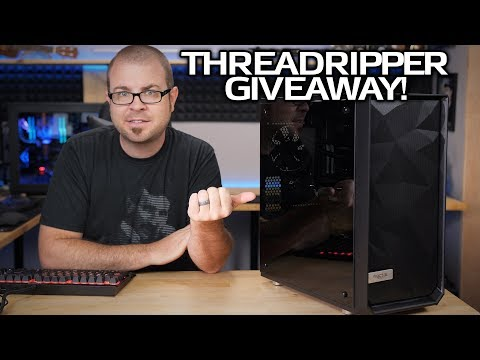Setting Up The Threadripper Giveaway PC!