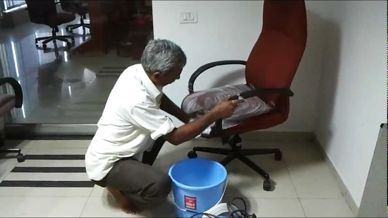 Shampoo Cleaning of Chairs  wwwmagicdusterorg  YouTube