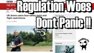 New UK Drone rules released today - Don