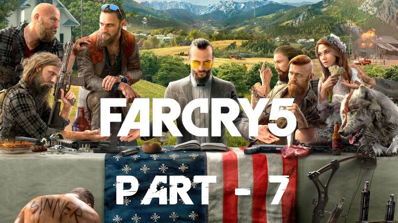 Far Cry 5 - Gameplay Walkthrough Part 7 - Only You - PS4
