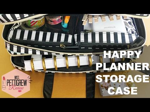 Happy planner storage case must have planner accessories for Happy planner accessories