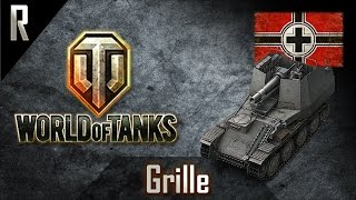 ► World of Tanks: Grille, German Tier V artillery [8 kills, 2712 dmg]