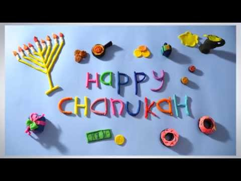 Happy Chanukah - Hanukkah Greeting Card