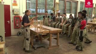 Schreiner-Ausbildung fur Fluchtlinge