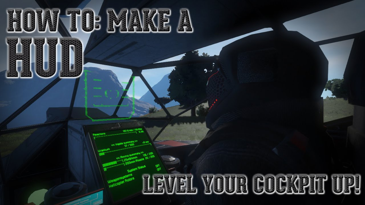 space engineers how to make shapes