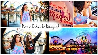 My Morning Routine   Disneyland Edition!