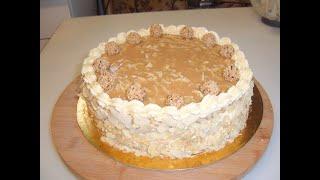 Ореховый торт Маринкины творинки