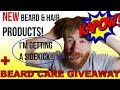 TESTING Newly RELEASED Beard & Hair Products!! | + SIDEKICK & CONTEST NEWS!