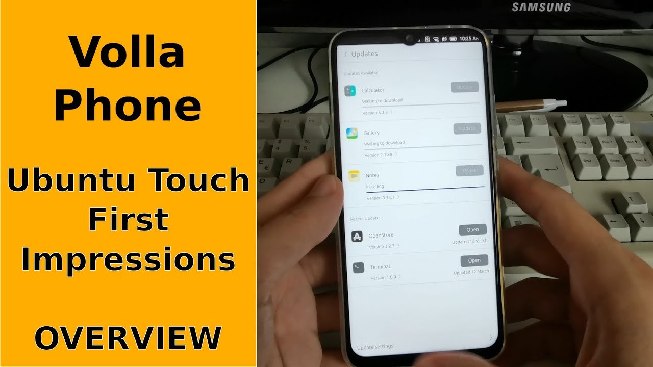 Download Ubuntu Touch - First Impressions on Volla Phone