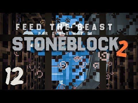 StoneBlock 2 Modpack Ep  11 AE2 Storage Bus + Empowerer Setup