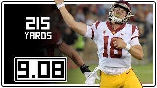 JT Daniels Full Coverage USC vs Stanford    9.08.18    215 Yards