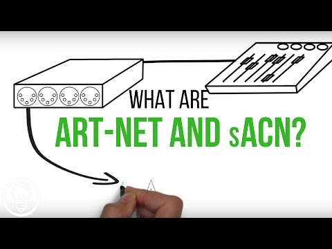 What are Art-Net and sACN?