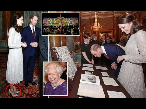 The Queen hosts Buckingham Palace reception for India