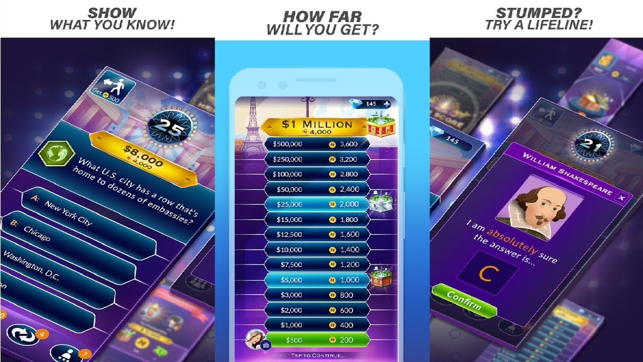 who wants 2 be a millionaire mobile game