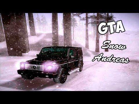 GTA Snow Andreas - Зима, Йети, Супермен