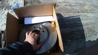 Рено кангу 1 замена тормозных дисков