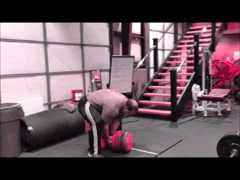 Derek Poundstone 2013 Arnold Training Video
