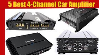 Car Amplifier: 5 Best 4 Channel Car Amplifier in 2020 | Best Car Amplifiers (Buying Guide)
