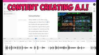 Descript Content-Erstellung und Transkription von A. I. Spaziergang Durch
