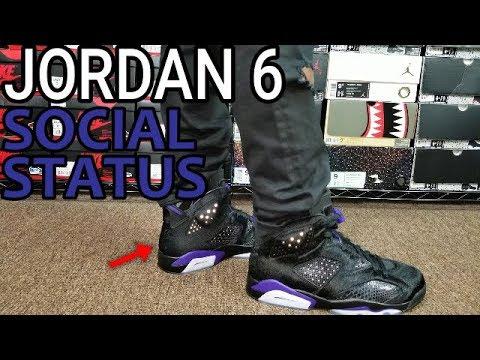 jordan 6 retro social status