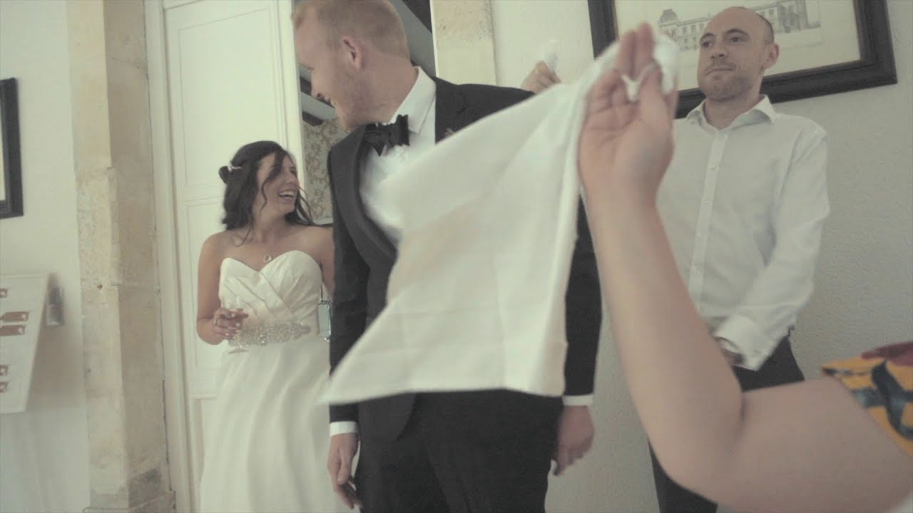 Chateau De La Borderie Benest a beautiful wedding in a french chateau | travel vlog