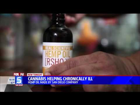 Fox 5 News Features RSHO-X Cannabidiol (CBD) Oil Approved for Import to Mexico
