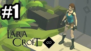 Lara Croft GO - Gameplay Walkthrough Part 1 - Mobile