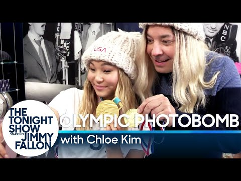 Chloe Kim Photobombs Fans and Finds Out She Made the Cover of Kellogg's Corn Flakes