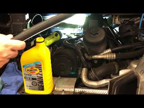 Porsche 911 Air Oil Separator Replacement