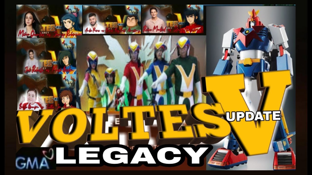 VOLTES V LEGACY GMA 7/ LATEST UPDATE - YouTube