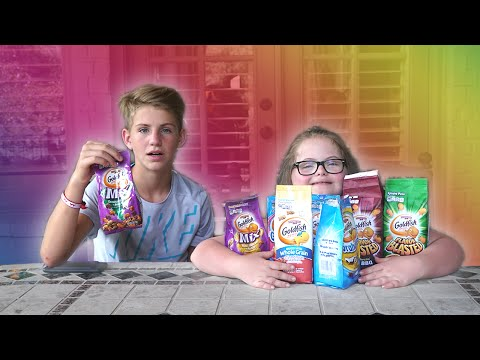 Goldfish Challenge (With Sarah Grace)