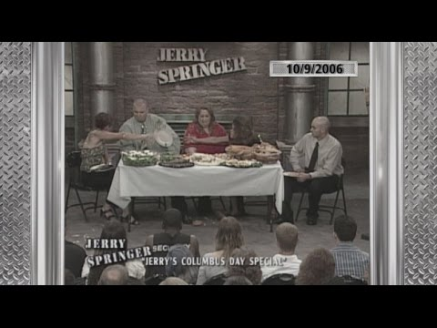 Food Fight!!! The Jerry Springer