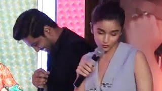 Alia Bhatt looses her patience when asked a GK question  Video