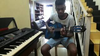 Sega pompe Gary victor chanter par mon fils kersen KEEVEN GUITARE