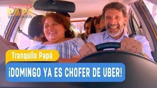 Tranquilo Papá - ¡Domingo ya es chofer de Uber! - Mejores Momentos / Capítulo 8