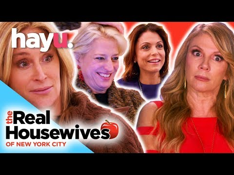 3 Pairs of Lips on 1 Man | The Real Housewives of New York