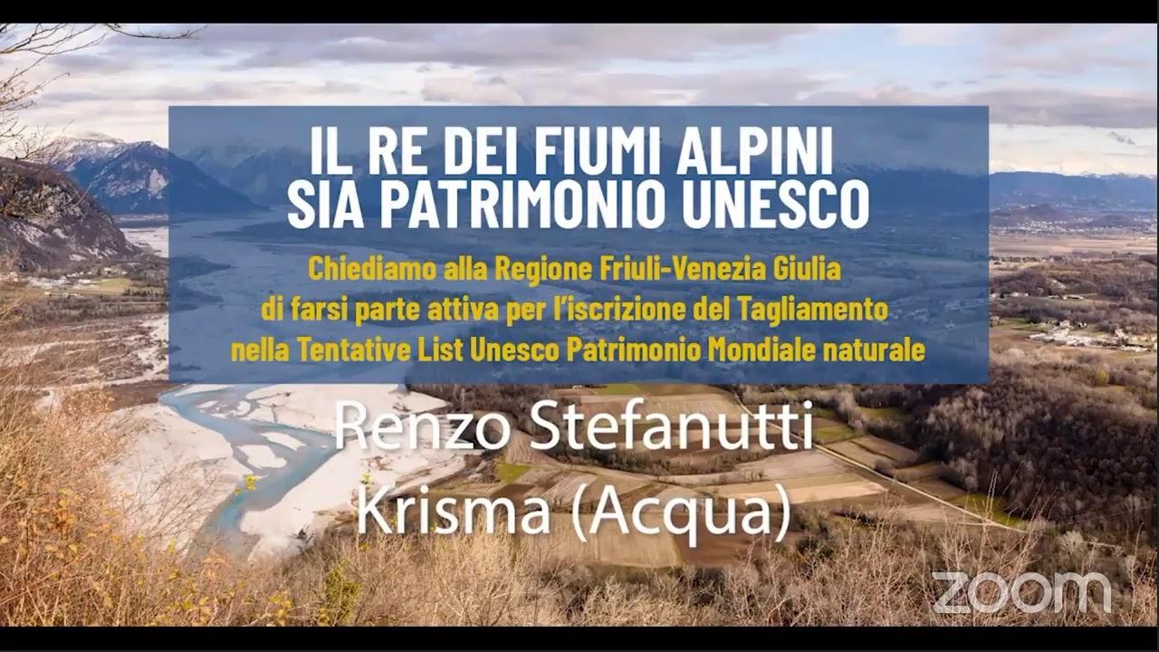 Speciale Tagliamento Patrimonio Mondiale naturale Unesco