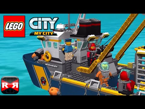 LEGO City My City - City Divers Exploring a Shipwreck in Shark Infested Waters - iOS Gameplay Video