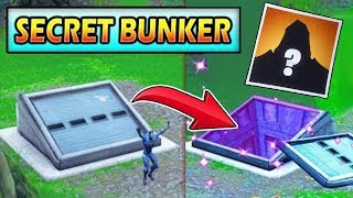 """SECRET BUNKER"" HIDING THE ROAD TRIP SKIN! FORTNITE SEASON 5 STORYLINE! (EVENT)"