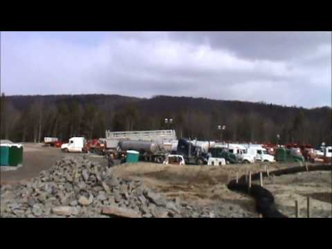 Fracking - Wootton Site-- WPX Energy -- 3-3-13