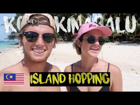 WHAT TO DO IN KOTA KINABALU | BEST BEACHES AND ISLAND HOPPING
